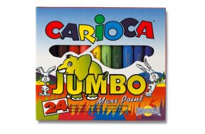 CARIOCA MARKERS 24 COLOURS JUMBO